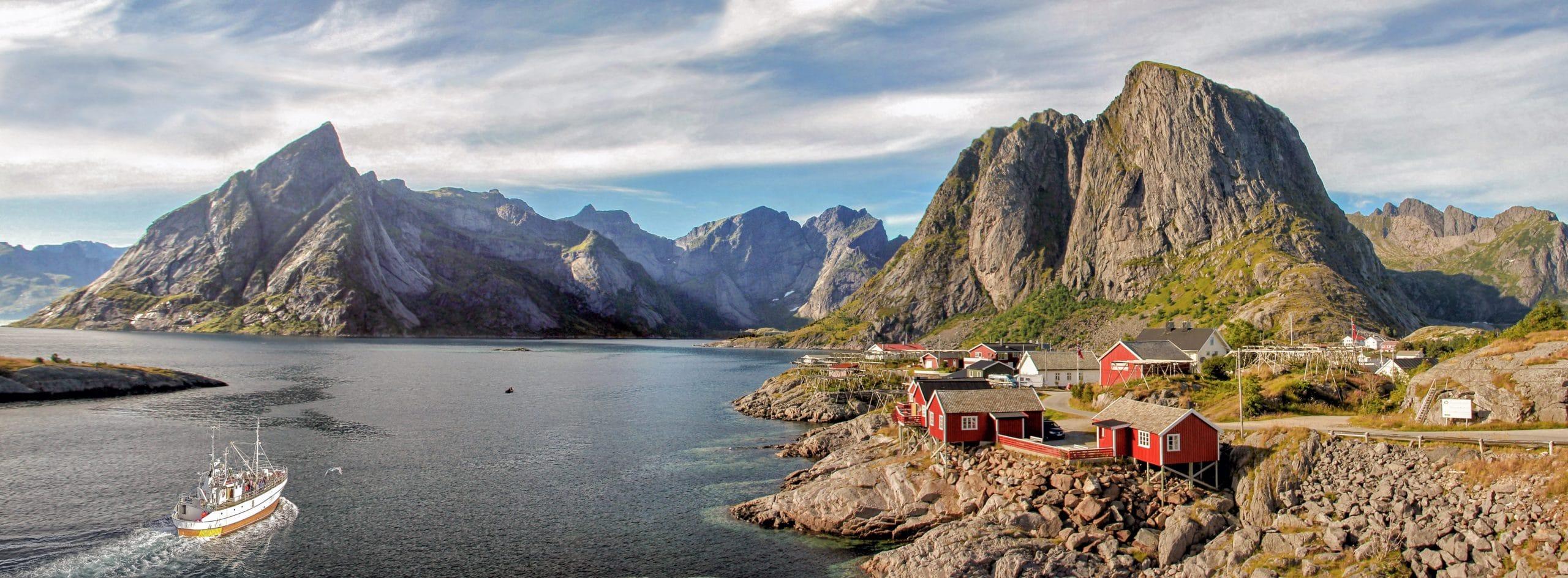 Vakker natur i Lofoten